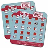 Regal Games License Plate Travel Bingo (2 Cards)