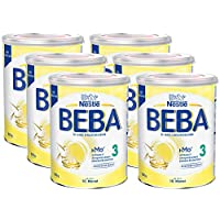 Nestlé 雀巢 BEBA 婴儿奶粉 3段(适用于10个月以上婴儿),6罐装(6 x 800g)