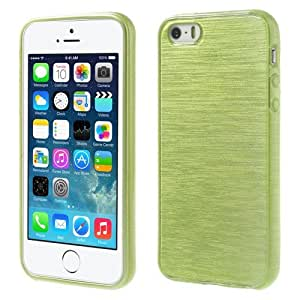JUJEO TPU Cover Shell for iPhone 5/5S - Non-Retail Packaging - Green
