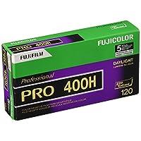 Fujifilm Fujicolor Pro 400H 彩色负膜 ISO 400,120mm,5 卷专业套装(制造商已停产)