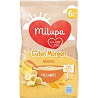Milupa Guten Morgen Milchbrei Banane, 5er Pack (5 x 400 g)