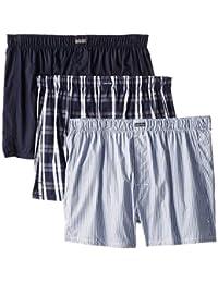 Calvin Underwear 3 Pack Cotton Classic Woven Boxers