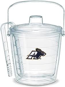 Tervis 1062235 Akron University Emblem Individually Boxed Ice Bucket, 87 oz, Clear