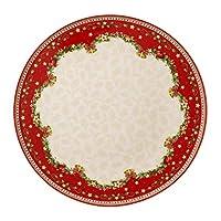 Villeroy & Boch 冬季烘焙 Delight Rd 蛋糕盘 30cm 冬青色