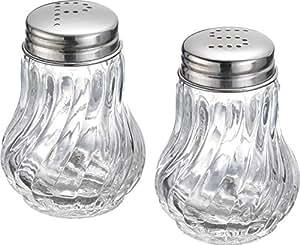 Westmark 柏林盐和胡椒调味瓶套装 银色 10x7x5 cm 65362270