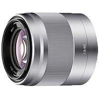 Sony 索尼 E 50mm F1.8 OSS (SEL50F18) 镜头 (标准定焦) (银色)