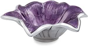 Julia Knight Lily Bowl, 4-Inch, Amethyst