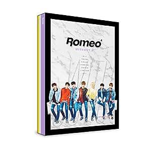 ROMEO - WITHOUT U ( * 4 个迷你相册) [ 夜虎 ] CD+Photobook+明信片+折叠海报