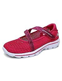 Skechers 斯凯奇 GO WALK 2系列 女童 玛丽珍休闲鞋 81166