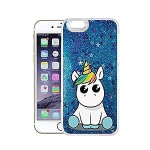 独角兽系列闪光蓝色 iPhone Iphone 6/6S Einhorn 02