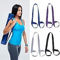 Spiralization Direct 4 件瑜伽带垫瑜伽垫吊带可调节瑜伽垫背带