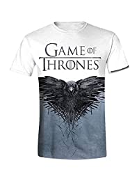 Game of Thrones 权力的游戏 乌鸦 T 恤 多色