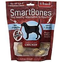 SmartBones洁齿骨狗零食小号鸡肉味6支袋装SBC-00204