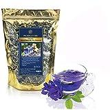 优质泰国草本*干蝴蝶豌豆花茶(3.55 盎司)) 可用于烹饪,泰国食品、饮料、蛋糕或饼干