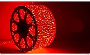 朗美科 简约现代时尚LED灯带高亮度家装灯条客厅灯 灯带 5050旗舰版 60珠 七彩 按米售卖 红色689米