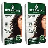 Herbatint 1N 黑色永久性*剂(2 包)不含*精和氨基酸,每瓶 1.65 液盎司