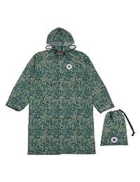 Ogawa 小川 儿童雨衣 CONVERSE 匡威 迷彩图案 附带反光条 附带有褶皱用于背包时调节尺寸 附带收纳袋 * 140cm -