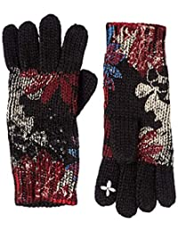 [DESIGUAL ] 手套 GLOVES_REP SEQUINFLOWERS 女士