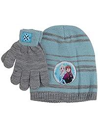 KIDS COMIC SUPERHERO *无檐小便帽女孩/幼儿冬季帽手套连指套套装(款式 1)