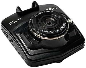 京华 CVR602迷你型行车记录仪(铝制金属外壳 2.4英寸屏 1200W像素 1080P高清 140超广角 超强夜视 循环录影 紧急锁定 超高性价比)