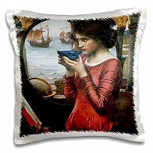 BLN 维多利亚时代幻想艺术收藏品–Destiny JOHN William waterhouse–枕套