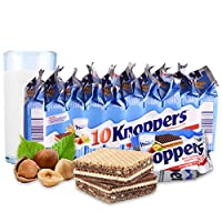Knoppers 牛奶巧克力榛子威化饼干 250g(德国进口)