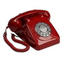 GPO 746 按钮复古电话带正品铃声环GPO746PB Red