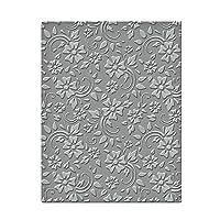 Spellbinders SES-008 花朵和叶子浮雕文件夹