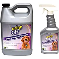 Urine Off Odor and Stain Remover 狗狗* Gallon + Sprayer Combo
