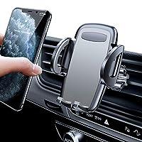 车载手机支架,Diaclara 车载通风口手机支架,汽车手机支架兼容 iPhone 11/11 Pro/Xs/XS Max/8/7/ 6,三星 Galaxy S20/S10+/S9/S9+/S8,Note 10,像素 3 XL 和所有手机