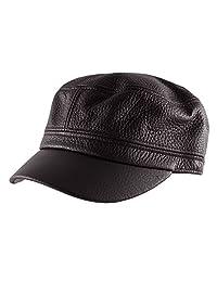 Morehats 真皮*学员帽军迷彩可调节帽子