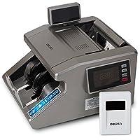 得力(deli) B类语音银行专用验钞机 新版人民币点钞机 双屏显示3916