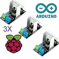 3 件正品 PWM 交流电可编程光源调光器 110V - 220V 交流电模块控制器兼容 50/60Hz 3.3V / 5V 逻辑与 Arduino、STM、ARM、Raspberry 兼容