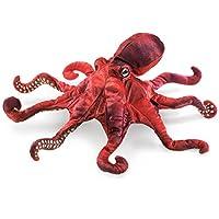 Folkmanis 红色章鱼手偶