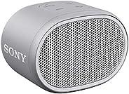 索尼小型防水无线扬声器,带EXTRA BASSSRSXB01W.CE7