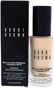 Bobbi 棕色皮肤长效无重粉底* SPF 15 - 沙 (2) - 1 液体盎司/30 ml