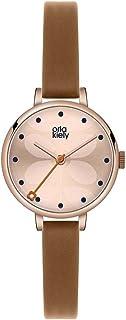 Orla Kiely 欧拉·凯利 中性成人模拟经典石英手表皮革表带 OK2034