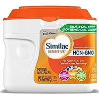 Similac 雅培 Sensitive 婴幼儿奶粉,Non-GMO,为对乳糖敏感宝宝设计,22.6盎司(638g)(6罐装)