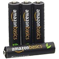 AmazonBasics 亚马逊倍思 4节七号高容量镍氢预充电可充电电池,可循环使用 500次(进口直采;日本制;标准值:850 mAh,最小值:800 mAh)