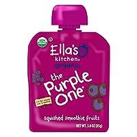 Ella's Kitchen 6個月+ 水果泥,紫色裝,3盎司(85克),6袋