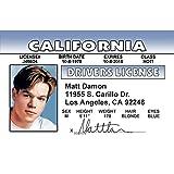 Signs 4 Fun Ngwid Matt Damon 司机许可证