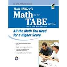 Bob Miller's Math for the TABE Level A (GED® Test Preparation) (English Edition)