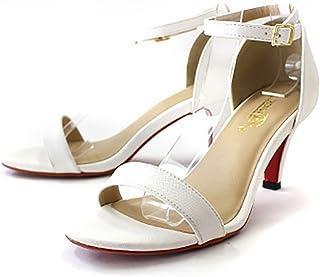 [ 网 ] AmiAmi 鞋跟异材质双色凉鞋