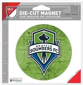 WinCraft MLS 西雅图音响器颜色 4.5 x 6 模切磁铁
