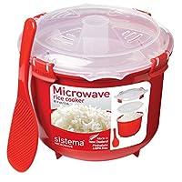 Sistema 微波炉饭煲, 2.6 L - 红色/透明