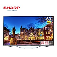 Sharp 夏普 LCD-60SU861A 60英寸超薄4K高清网络液晶智能平板电视(亚马逊自营商品, 由供应商配送)