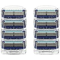 Gillette 吉列 Fusion5 ProGlide 锋隐5剃刀刀片,8替换装
