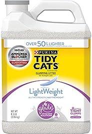 Purina Tidy Cats 轻量级 Glade Tough Odor Solutions 结块猫砂 (2) 8.5 lb. Jugs