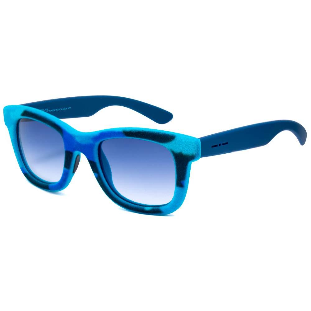 イタリアインディペンデントの女性の0090V-141から000サングラス、青、52.0