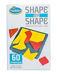 Thinkfun 新想法 益智玩具 创意游戏 几何拼图-形对形 Shape by Shape